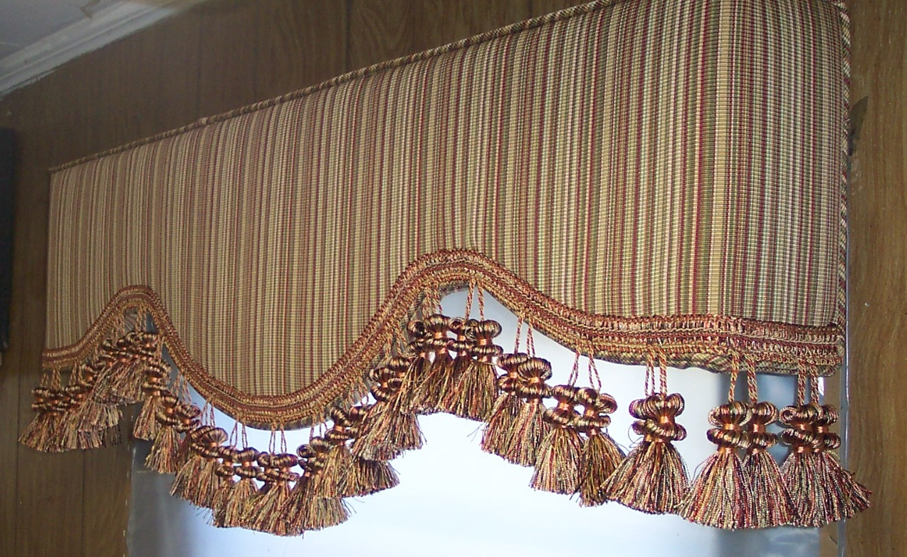 Chandler AZ upholstered cornice boards